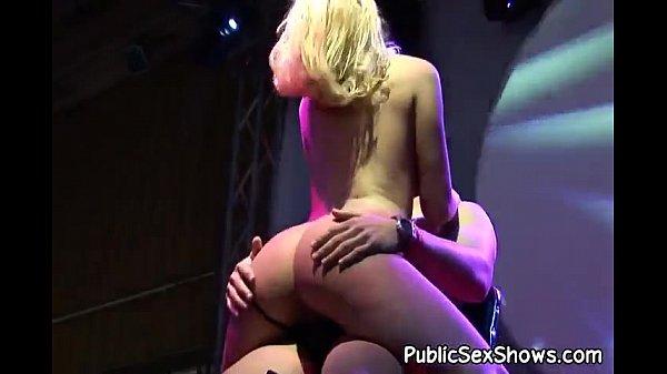 Hot midget girl takes anal