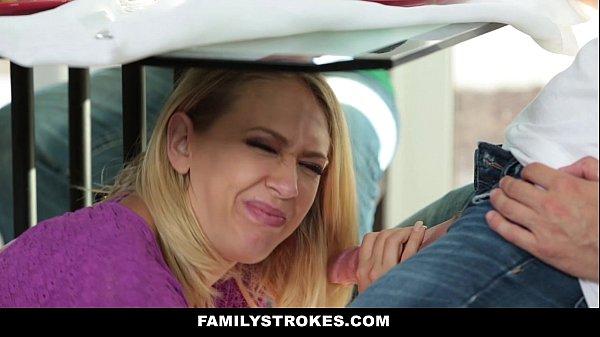 FamilyStrokes - MILF Step Mom Fucks Son - XNXX COM