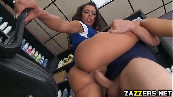 Vintage Blonde Milf Is Getting Ass Fucking With Her Legs Up Sideways