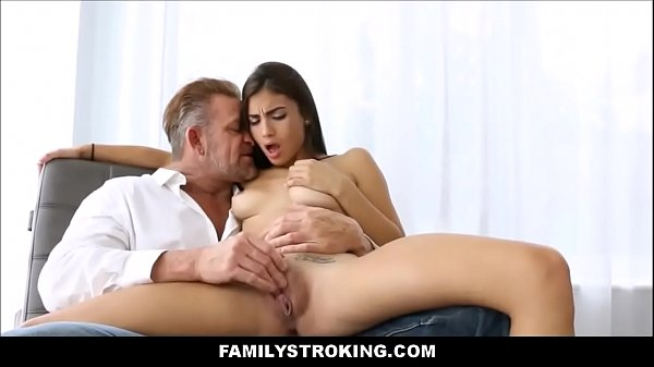 Step Dad Licks Daughters Pussy