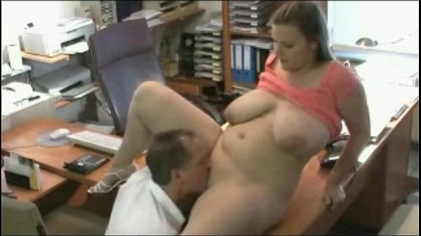 Fucking fat chubby secretary at the office