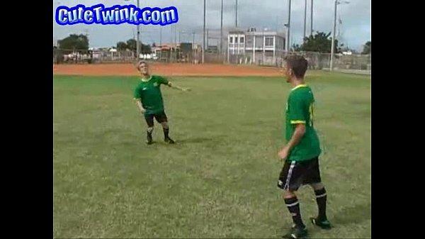 Soccer Guys Devouring Twinky Ass