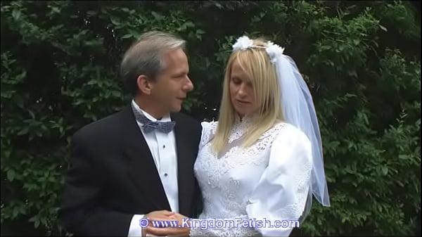 Domina Hochzeit Bräutigam Geschichte, Brüste und Penis mit Sex