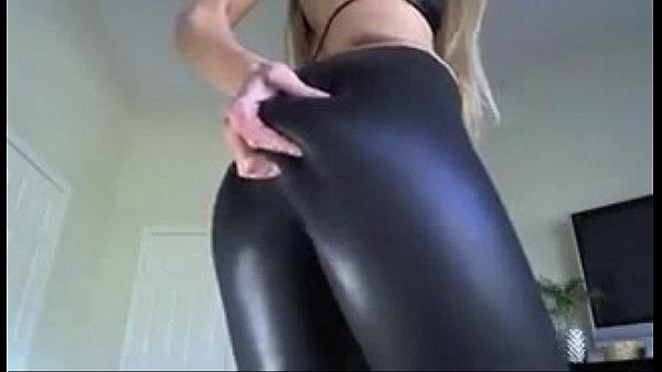 black girl in leggings porno