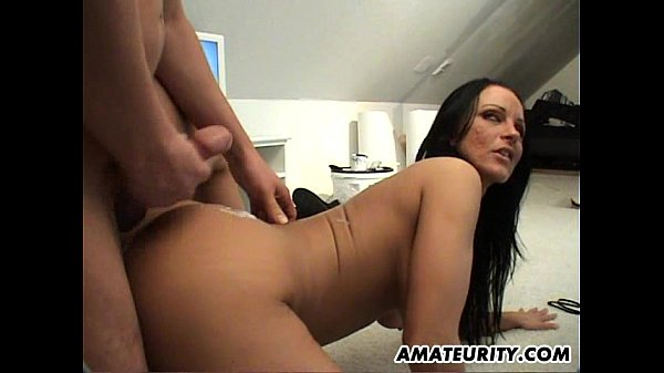 Naughty milf at home