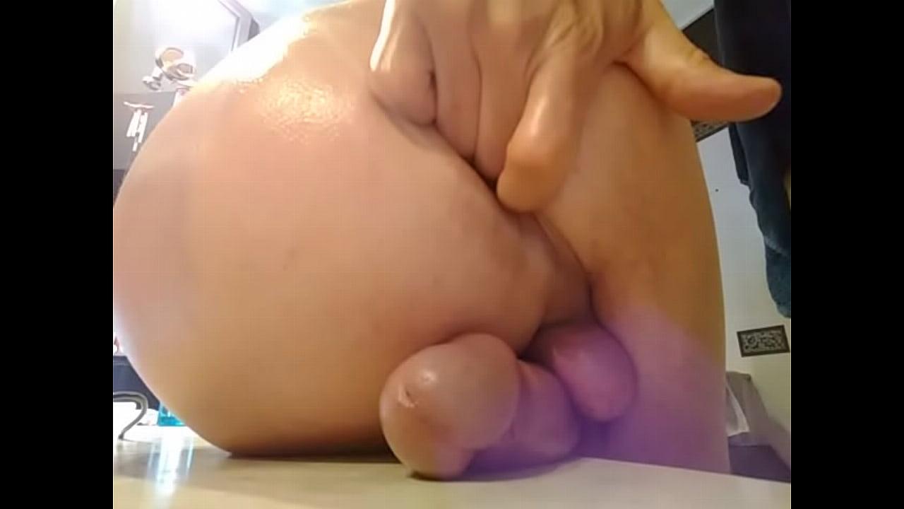 Solo Anal Masturbation