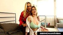 Smoking Hot Cougar Julia Ann meets the curvy bi...
