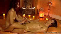Exotic Erotic Handjob Massage Babe