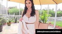 Watch Penthouse Pet Jelena Jensen dons a hot day dress outdoors & takes it off slowly, massaging her wet muff in the sun! Full Video & Jelena Jensen Live @ JelenaJensen.com preview