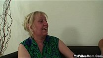 Wife leaves and motherinlaw seduces him Thumbnail