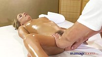 Massage Rooms Anal creampie fucking for sexy young tanned Russian babe's Thumb