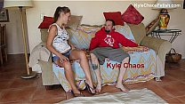 Watch Hypersexual Stripper Mother Teases and Wrestles Son preview