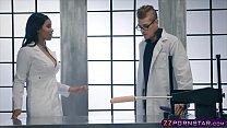Cute_ebony_tries_the_newest_fucking_machine_with_a_big_dildo Thumbnail