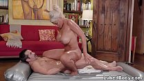 Hot Latina Masseuse Works On A Familiar Guy's Body's Thumb