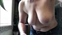 Caught my topless wife Thumbnail