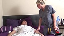 Young male hospital patient fucks his older hot  Doctor  #creampie Thumbnail