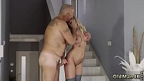 Old man Summer Brooks young blonde lesbian Thumbnail