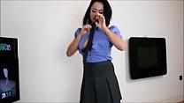POV StepSister Handjob JOI Thumbnail