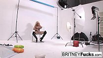 Watch Britney Amber rubs one out preview