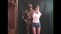 Amber Michaels Tied Up and Groped
