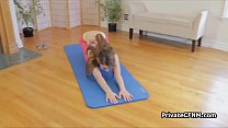 Yoga ends up with nice_POV blowjob Thumbnail