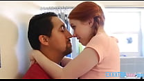 Redhead teenie called Dolly Little getting her ...