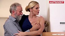 LETSDOEIT - Creepy Stepfather Bangs With Her MI...