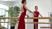Red dressed teen Zadornaya is a pro Thumbnail
