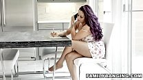 Hot Sexy Stepsister Waits For Her Step Mom To B...