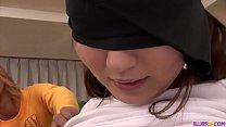 Hot japanese girl Ryo Asaka gets dicks in mouth...