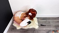 Sexy Redhead Deepthroat and Doggystyle Fucking ...