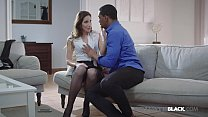 Watch French Fuck Fiend Clea Gaultier, is stuffed by a black stud who pounds her pussy before upgrading to her tiny asshole! preview