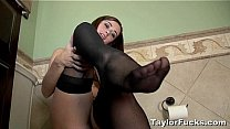 Sexy In Black Stockings Thumbnail