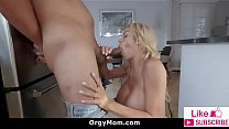 Horny Mom Rides Son's Dick