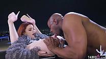 Petite whore Lola Fae takes big black cock anal...