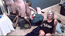 Housewives swapping husbands and sucking cock i...