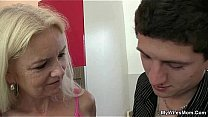 Watch Wife comes in and sees her BF fucks her mom preview