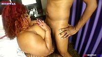 big butt bbw pornstar Thick puerto Rican Queen blows Don Prince big black dick after a BBWHighway.com photoshoot Thumbnail
