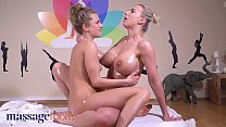 Massage Rooms Mature Nathaly Cherie tribbing an...