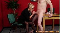 MILF_doctor_teases_her_patient_during_CFNM Thumbnail