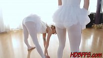 Real teenage ballerinas suck and ride huge fat ...