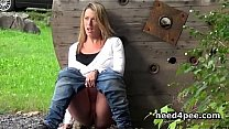 Watch Outdoor public pissing 2 preview