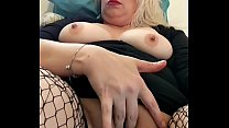 Hubby films his hot sexy milf wife as she shows...