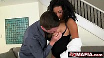 Ebony Hottie_Bouncing Her Big Natural_Tits and Fucking Doggystyle Thumbnail