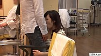 JAV Mizuna Wakatsuki hair salon covert blowjob and fingering Subtitles Thumbnail