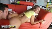 BANGBROS - Sexy Blonde PAWG Nicole Aniston Gets Her Pussy Packed With Meat's Thumb
