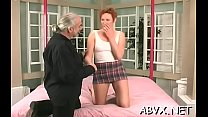 Intensive bondage with older