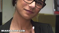 Watch MIA KHALIFA - Lebanese Babe With Incredible Big Tits Showing Off Her Body preview
