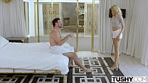 Watch TUSHY Blonde Teen Gets Anal Dominated By_Her Master preview
