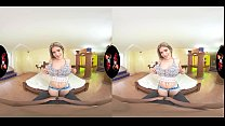 Horny Latina in VR with Big Breasts